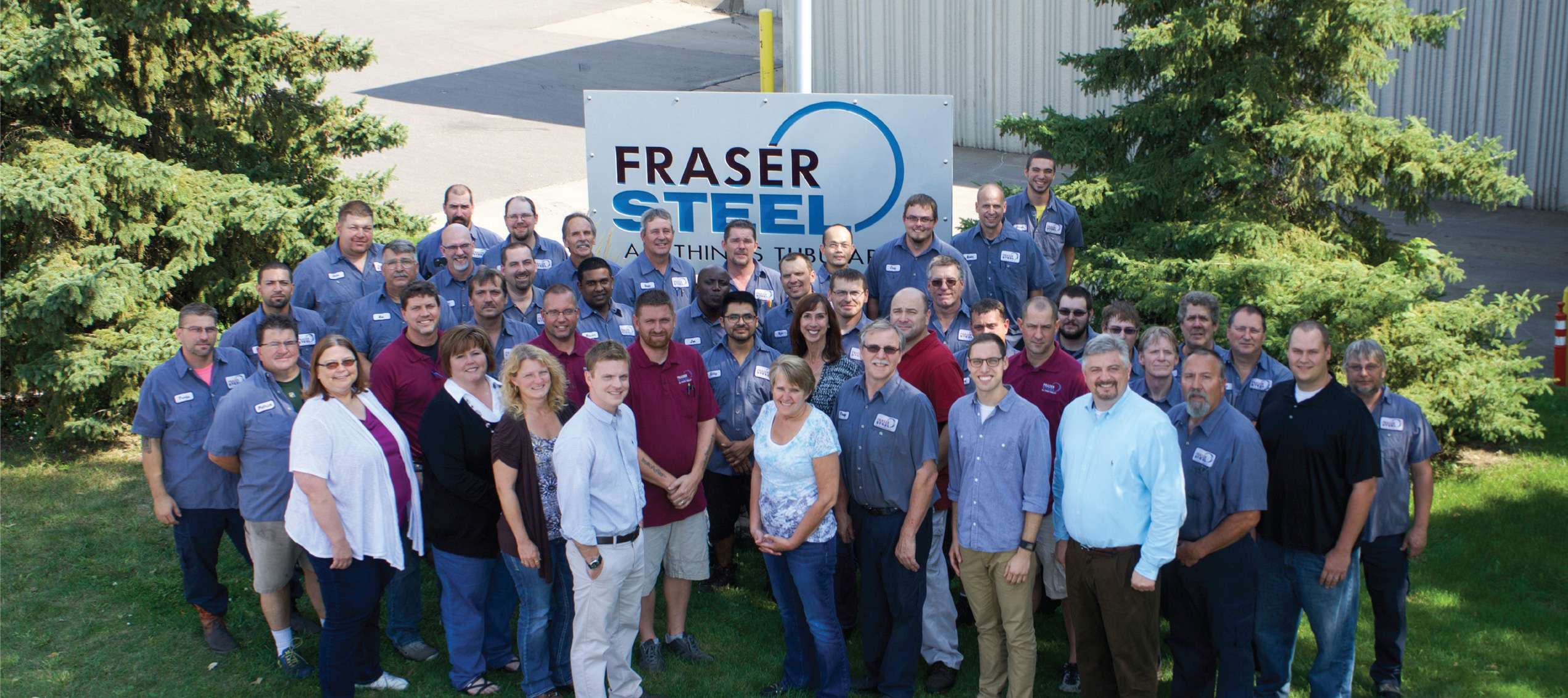 Fraser Steel Group Photo 2016